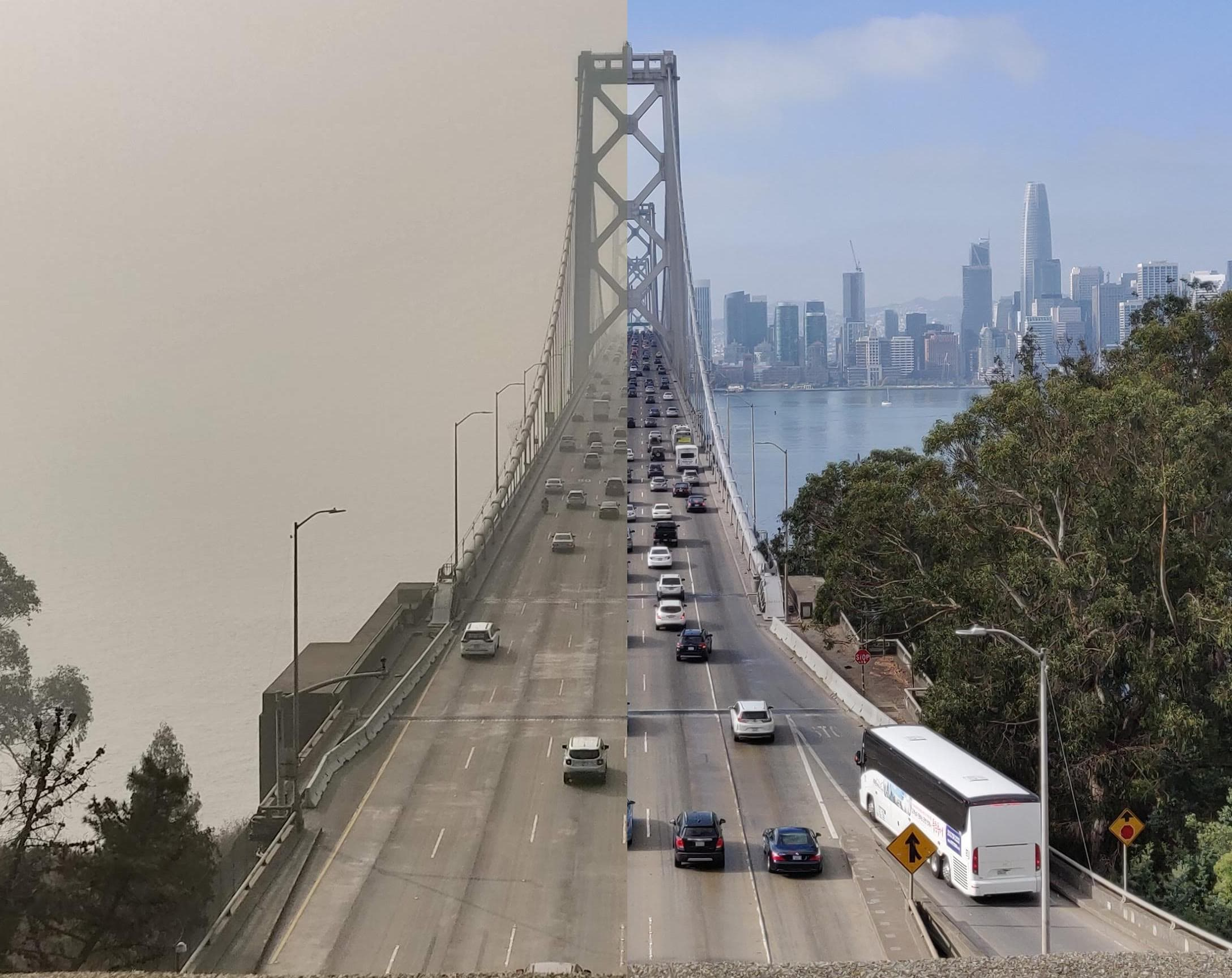 Camp Fire effects on air quality in San Francisco