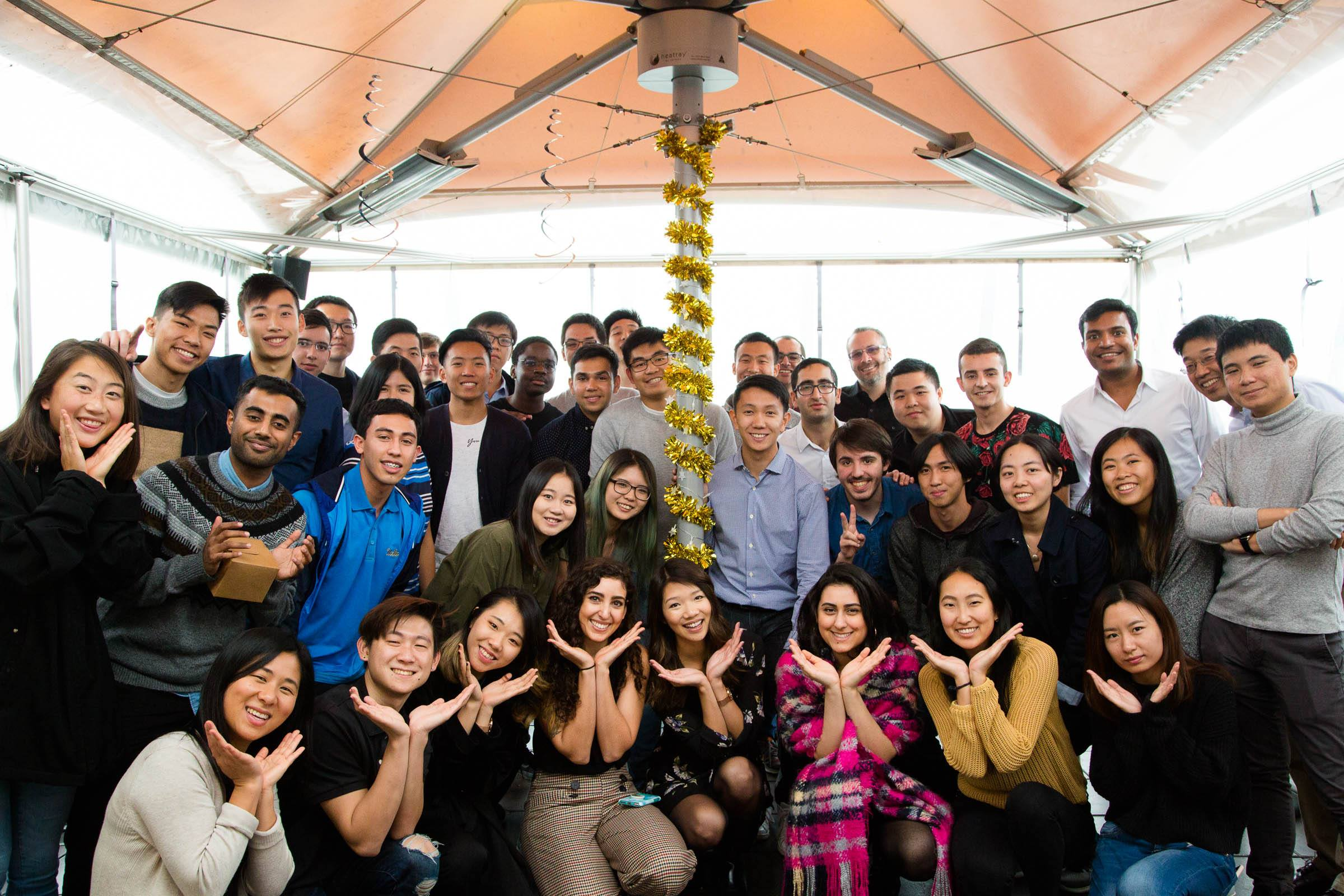 Yelp Fall 2018 Intern Class + YIP Team